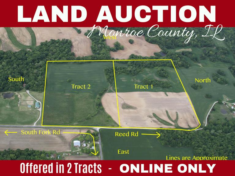Online Auction - 57.51 Acres in Monroe County