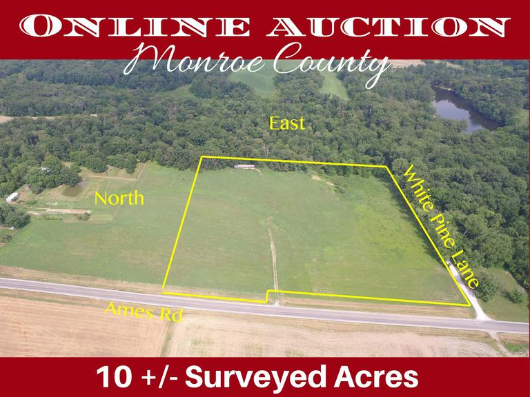 Online Only Auction - 10 +/- Acres in Monroe County